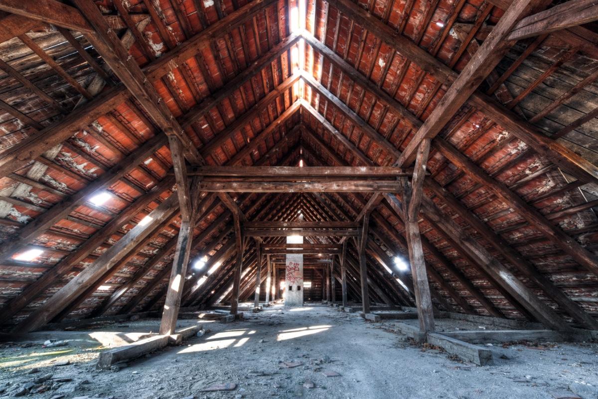 Voorbeeld nieuwe dakconstructie plaatsen