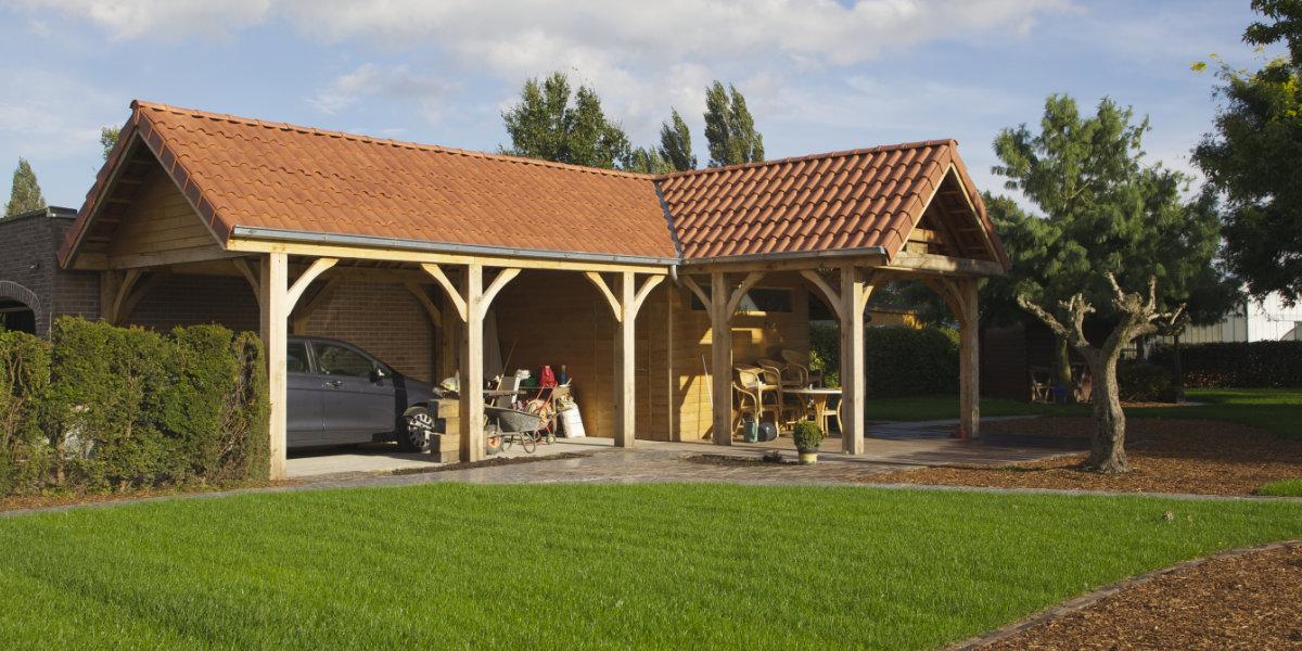 dak tuinhuis vervangen