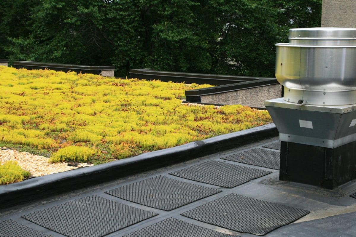 plat dak maken
