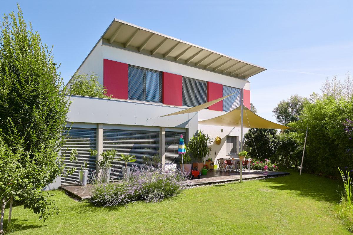 soorten daken: lessenaarsdak